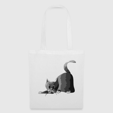 Grey Cat - Tote Bag