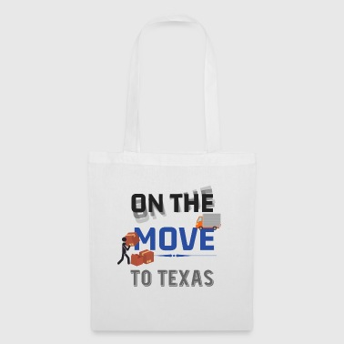 En route pour Texas Moving State & House Gift - Tote Bag