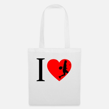 I Love Tennis I love tennis, tennis player - Tote Bag