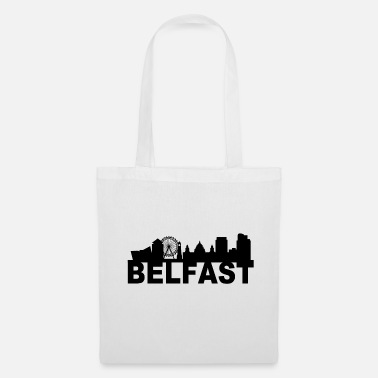Titanic Belfast Northern Ireland Skyline Gift Idea UK - Tote Bag