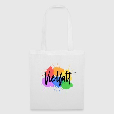 Variety LGBT Gay Pride splashes of color - Tote Bag