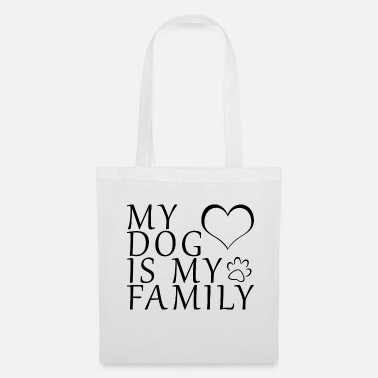Caniche Chiens Famille Love Retriever Paw Gift - Tote Bag