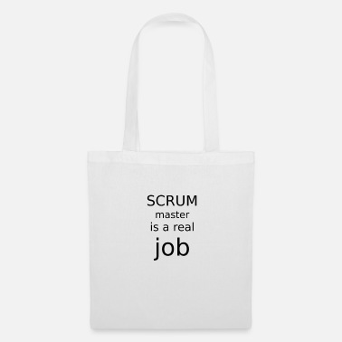 Master Scrum master is a real job - Tote Bag