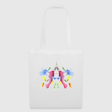 Rorschach panel 1/10 inverted - Tote Bag