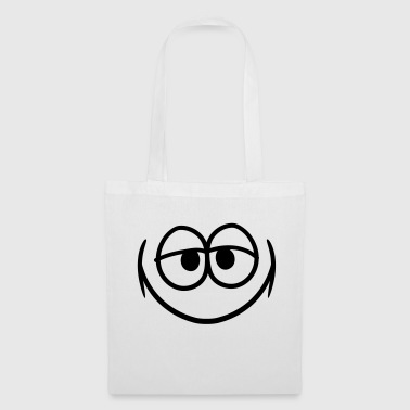 funny grin smiles happy eyes mouth gesic - Tote Bag
