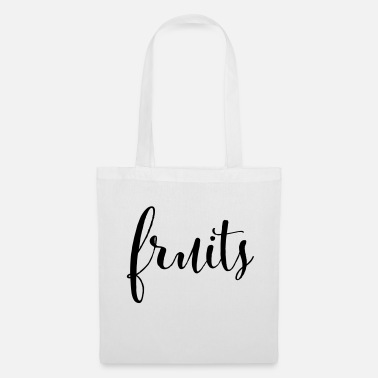 Fruit FRUITS - fruit fruits - Tote Bag