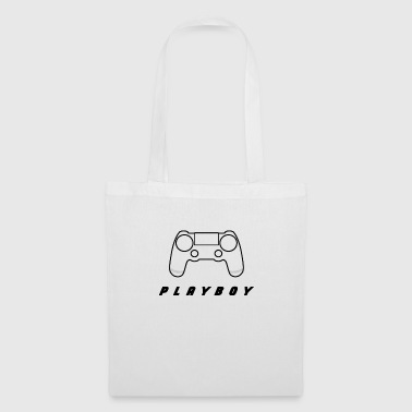 Witty Controller with witty lettering - Tote Bag