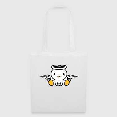 duck bird chick angel sky sitting dead in death - Tote Bag