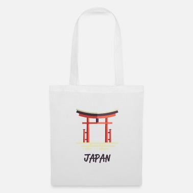 Shrine Japan gate shrine pray temple Tokyo japanese - Tote Bag