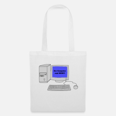 Ordinateur ordinateur - Tote Bag