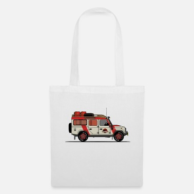 Jeep Jurassic Defender - Tote Bag