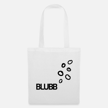 Under Water BLUBB bubbles under water - Tote Bag