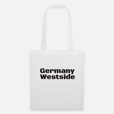 Westside Germany Westside West Germany in black - Tote Bag