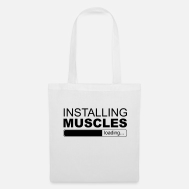 Installation INSTALLATION DES MUSCLES - Tote Bag