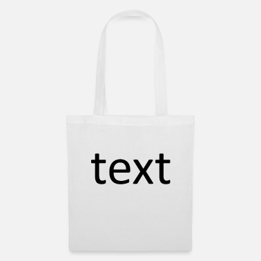 Texte text - Tote Bag