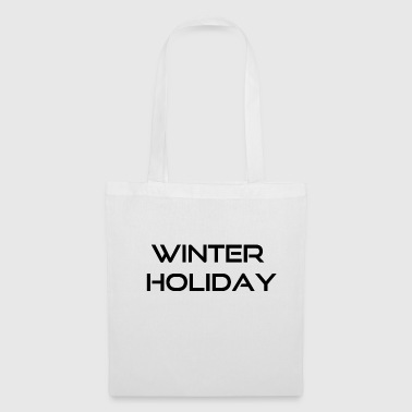 winter holiday - Tote Bag