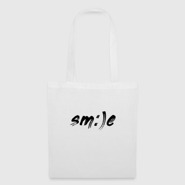 Sourire sourire sourire smiley - Tote Bag