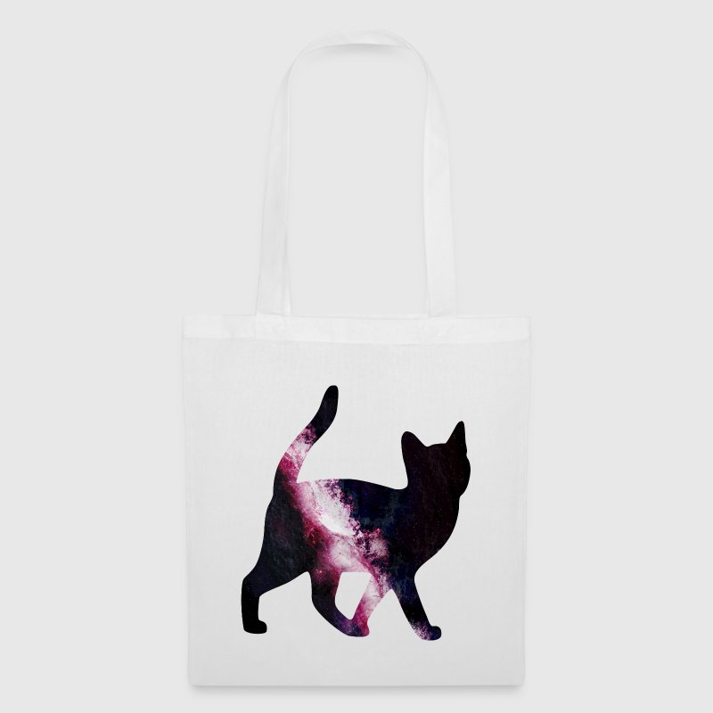 space cat gato espacial - Bolsa de tela