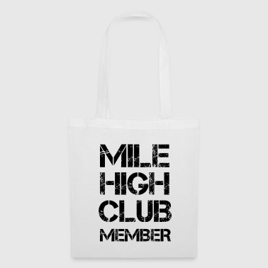 Airline MILE HIGH CLUB MEMBER Shirt - Tas van stof