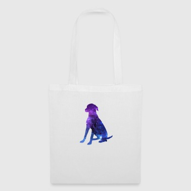 sitting dog - Tote Bag