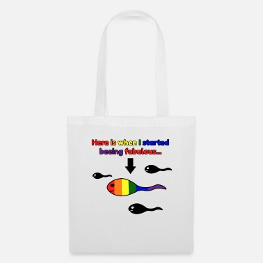 Têtard Têtards LGBT fabuleux arc-en-ciel - Tote Bag