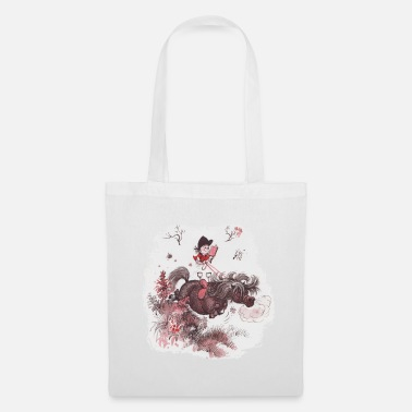 Thelwell - Pony outside in nature - Tote Bag