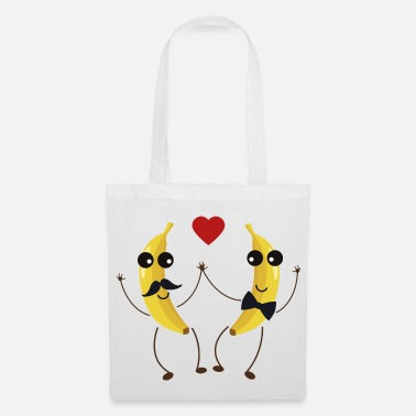 Love &amp The Bananas lovers - Tote Bag