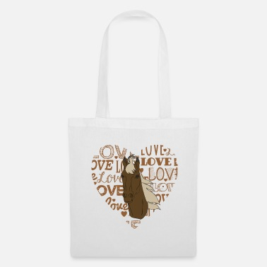 Big Love Caballos BIG LOVE - Bolsa de tela