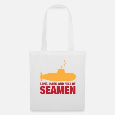 Penis Long, hard and full of seamen - Tote Bag