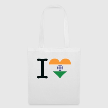I Love India - Stoffveske