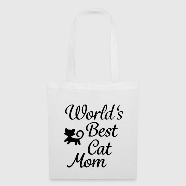 World's Best Cat Mom - Tote Bag