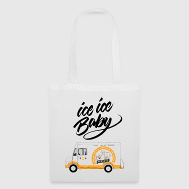 Ice Truck - Ice Ice Baby - Tote Bag