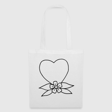 Heart traditional - Tote Bag
