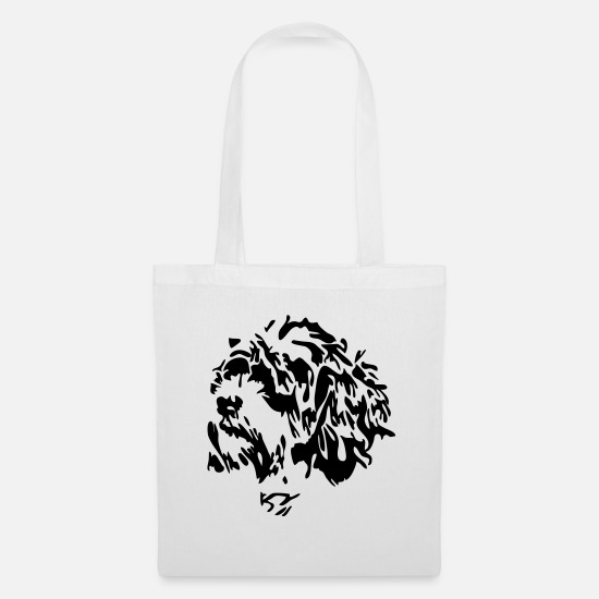 Dog Owner Bags & Backpacks - Maltese - Tote Bag white