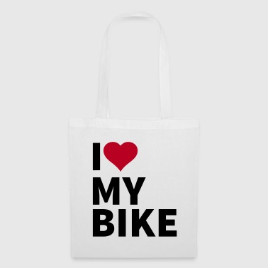i love my bike - Kangaskassi
