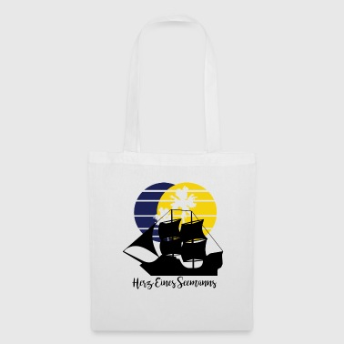 Heart of a Seaman - Tote Bag