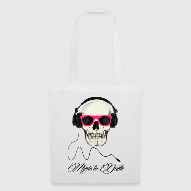DJ SKULL Music to Death - Tote Bag