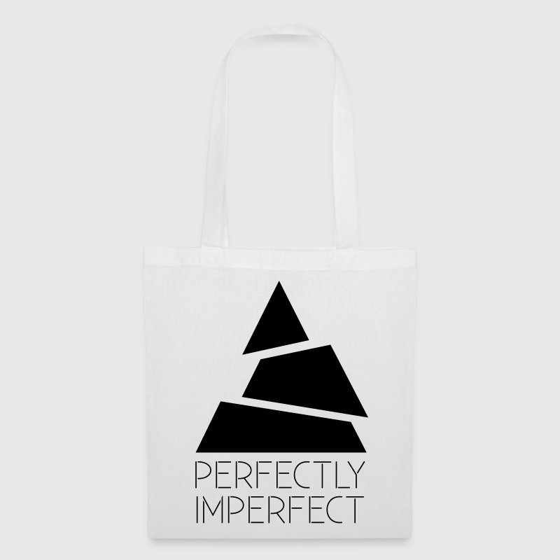 perfectly imperfect Hipster Dreieck Triangle - Stoffbeutel