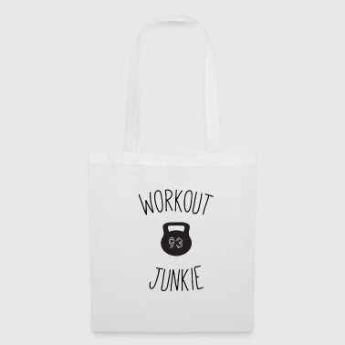 Workout junkie - Tote Bag
