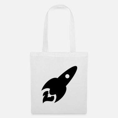 Astronomy rocket - Tote Bag