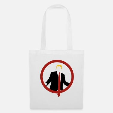 Shield Trump Shield Tie - Tote Bag
