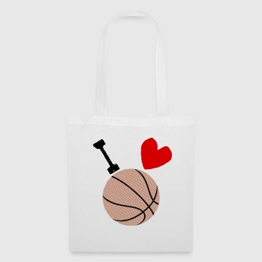 I love basketball - Tote Bag