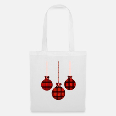 Carreaux Balle de Noël à carreaux Buffalo à carreaux - Tote Bag