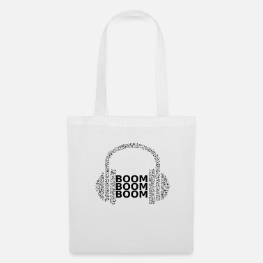 Hard Rock BOOM BOOM BOOM bass sound music gift music - Tote Bag