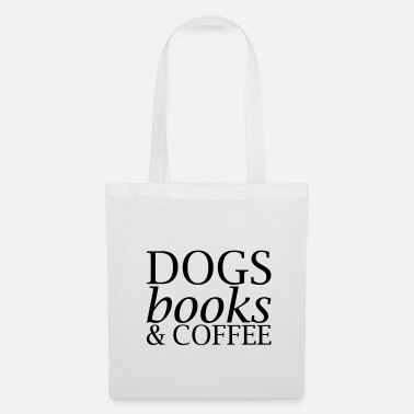 Coffee Dogs Books and Coffee - Tote Bag