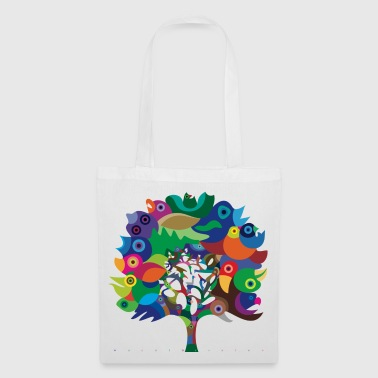 Overbirded arbre - Tote Bag