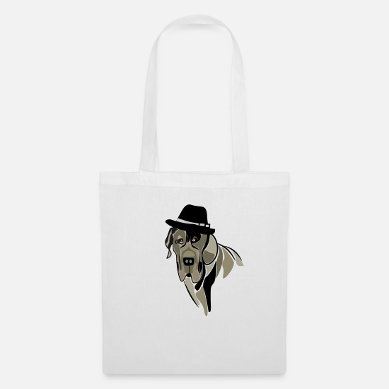 Stylish Bags & Backpacks - bowler - Tote Bag white