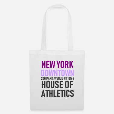 Nyc New York - Downtown House of Athletics Streetwear - Stoffbeutel