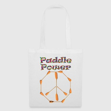 Paddle Power Peace Sign 004 - Stoffbeutel