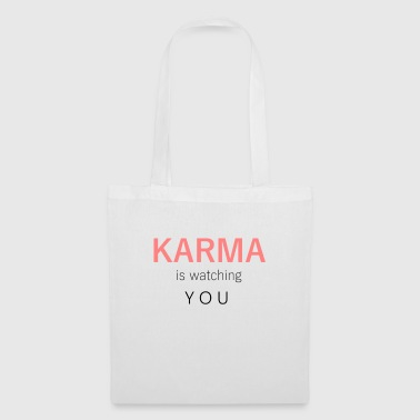 Karma is watching you - Tas van stof